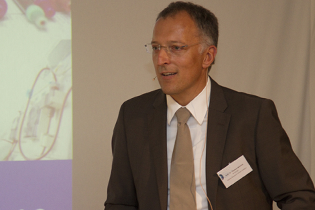 "Talk, Prof. Thomas Benzing: ""Research on ageing - an investment for the future?"""