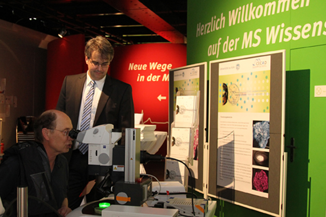 CECAD-Laboratory at MS Wissenschaft - exclusive for this evening