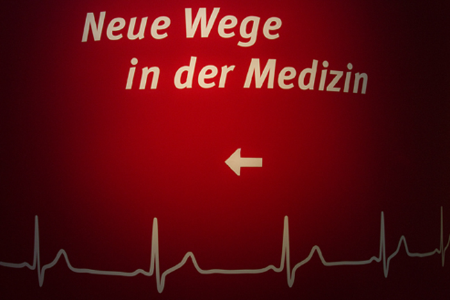 """New path in medicine"" - title of the current exhibition of MS Wissenschaft"