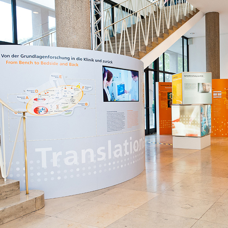 CECAD Translational Platform & University Hospital of Cologne, ground floor